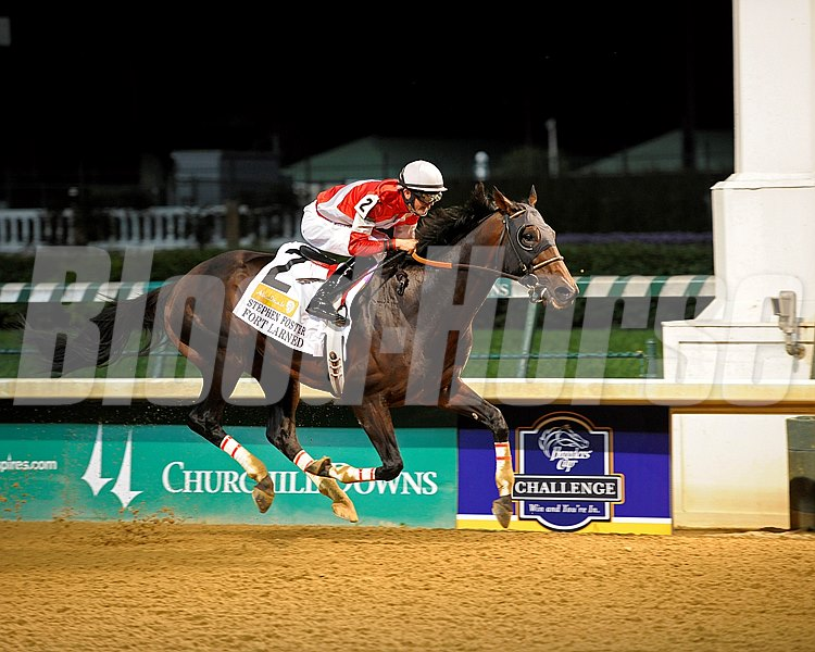 Fort Larned with Brian Hernandez Jr. up win the Stephen Foster Handicap (gr. I) at Churchill Downs.