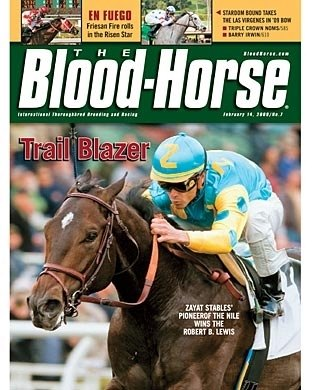 The Blood-Horse: 02/14/2009 issue