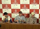 Dubai World Cup - Team 'Chrome' Press Conf.