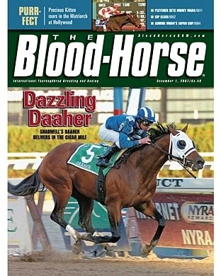 The Blood-Horse: 12/01/2007 issue