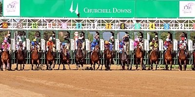 It was a beautiful day at Churchill Downs for the Kentucky Oaks.