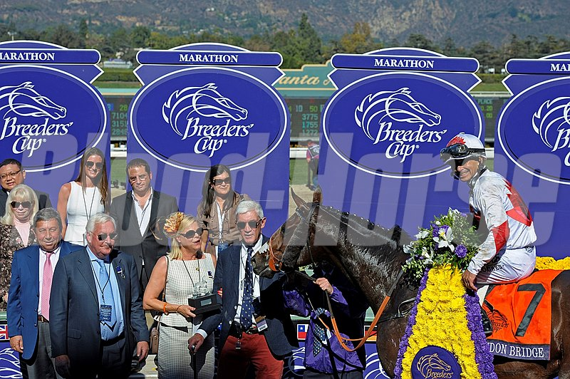 Breeders' Cup Marathon Winner's Circle
