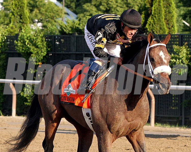 Preakness winner Oxbow and Hall of Fame jockey Gary Stevens return after finishing second in the Belmont Stakes.