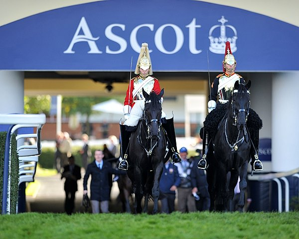2013 British Champions Day at Ascot Racecourse in England.