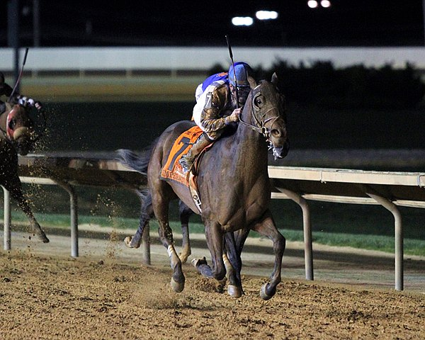 Imperative pounced on a softened-up Game On Dude rounding the final turn and proved best in the drive to land a $1 million payday at odds of 26-1 in the Grade II Charles Town Classic at Hollywood Casino at Charles Town Races.
