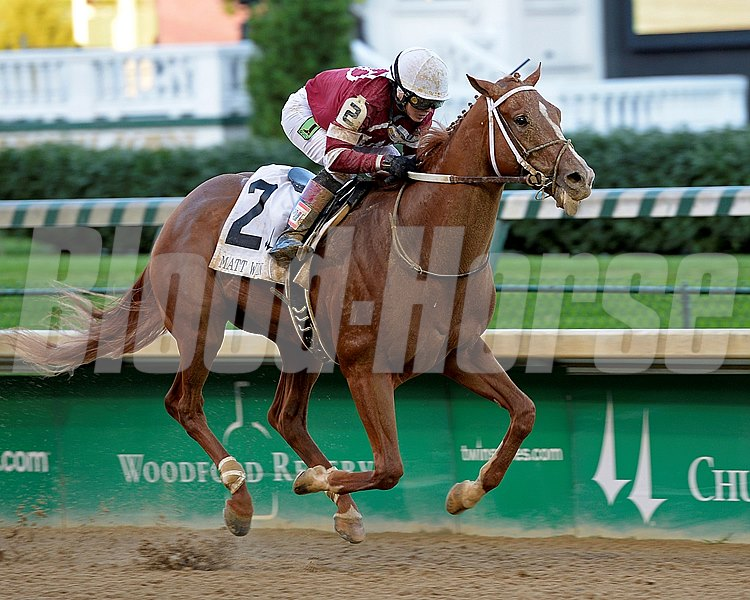 Tapiture bounced back from his 15th-place finish in the Kentucky Derby in May with flair, scoring a convincing victory in the $109,400 Grade III Matt Winn Stakes at Churchill Downs.