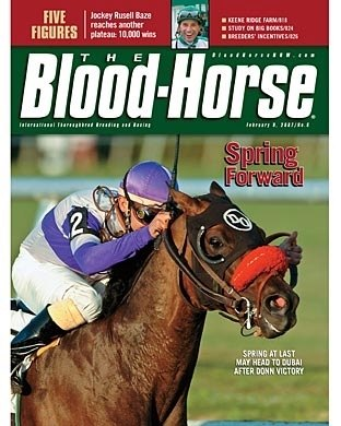 The Blood-Horse: 02/09/2008 issue