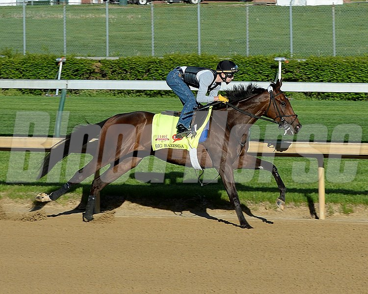 Caption: Big Bazinga works