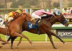 Liaison Shows His Fire in Santa Anita Return