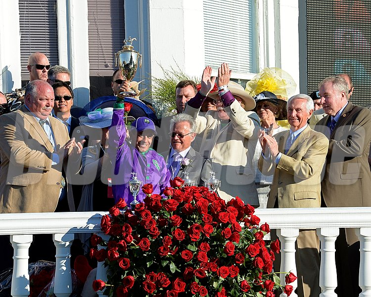 Left to Right: Perry Martin, Victor Espinoza, Art Sherman, Steve Coburn, Gov. and First Lady Steve and Jane Beshear.