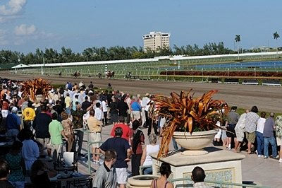 Opening Day at Gulfstream Park, 2011.
