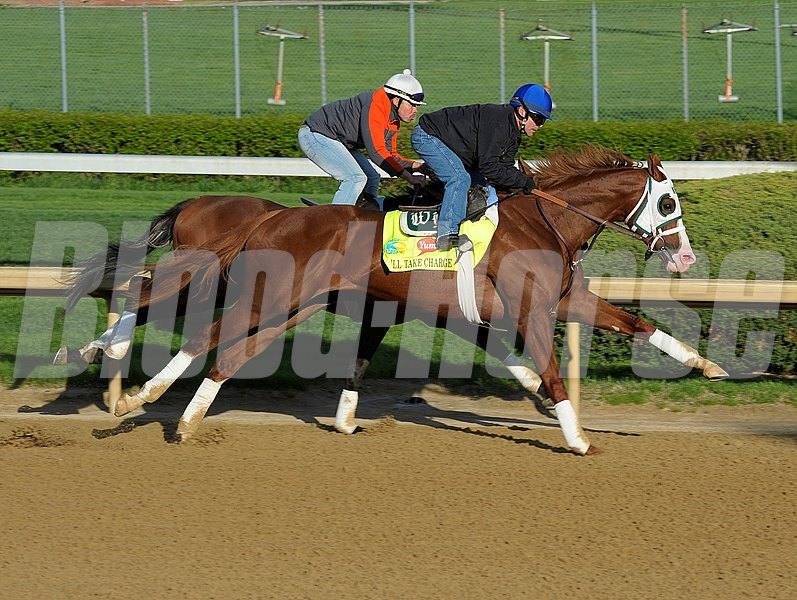 Caption: Will Take Charge working in company