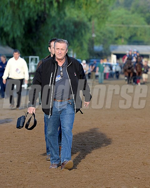 Caption:  trainer Rick Violette