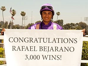 Bejarano Rolls to 3,000th North American Win