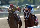 Acey Deucey Wins Belmont's Prioress