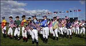Breeders' Cup Day Begins; Opening Ceremony Held