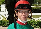 Apprentice Gaffalione Leads Gulfstream Jocks