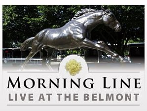 Morning Line Blog Live from Belmont!