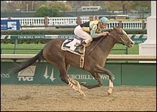 Sir Cherokee Victorious in Return from Layoff