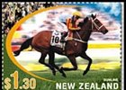 Sunline, Other Horses Featured on New Zealand Postal Stamps