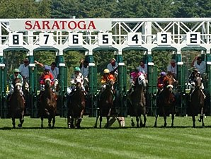 Business Brisk On Saratoga's Opening Day