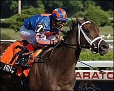Adieu Says Goodbye to Rivals in Spinaway