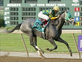 Smok'n Frolic Cruises in Turfway BC Stakes