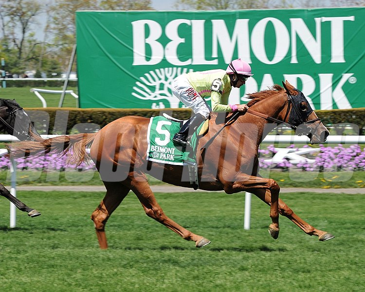 Bethlehem Stables, Michael Dubb, and Highclere America's Rosalind snapped a six-race losing streak when she held off the late run of Maximova to take the $200,000 Grade II Sheepshead Bay Stakes at Belmont Park.