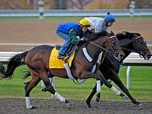 Blame Puts in Productive Workout at Keeneland