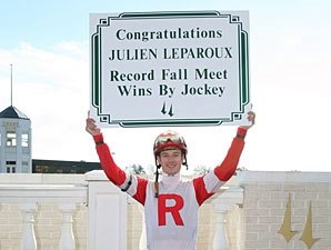 Leparoux Sets Churchill Record for Wins