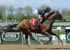 Tonalist Surges to Win Westchester Stakes