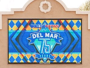 Del Mar Handle Up, Attendance Down