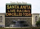 Santa Anita Cancels; Sham Rescheduled
