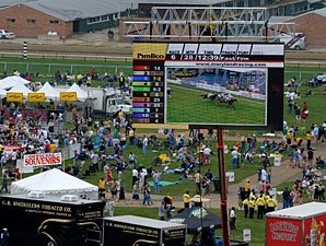 Pimlico Opens Infield on KY Derby Day