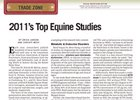 Trade Zone: 2011's Top Equine Studies