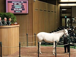 Cozzene Mare Tops Fourth Day at Keeneland