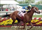 Pool Land Pulls Away in BC Distaff Handicap