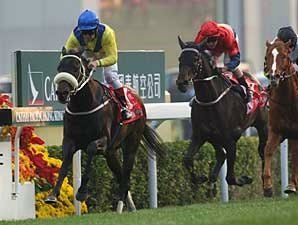 Eagle Mountain Soars in Hong Kong Cup