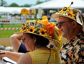 Attendance Jumps, Handle Drops for Preakness