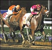 Burning Roma Scores Meadowlands Cup Upset
