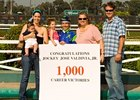 Jockey Valdivia Records 1,000th Victory
