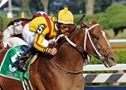 Curlin Turns in Work for JC Gold Cup