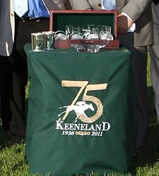 Keeneland Celebrates 75th Birthday  Oct. 15
