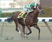 Randaroo Wins Early Duel, Romps in Distaff