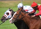 Court Vision Edges Karelian in Turf Mile