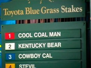 Blue Grass Stakes Draw Video