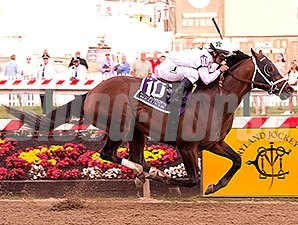 Commissioner wins the 2015 Pimlico Special.