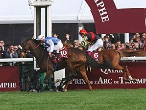 Flying Solemia Catches Orfevre for Arc Upset