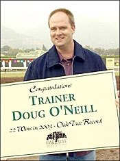 Baffert, O'Neill Runners Tested in Best Pal