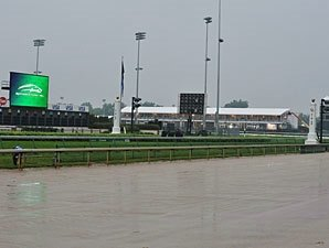Wet Start to Kentucky Derby Day; No Training